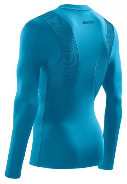 8ac0efdaa4cf CEP Wingtech zimné tričko s dlhým rukávom modré ...